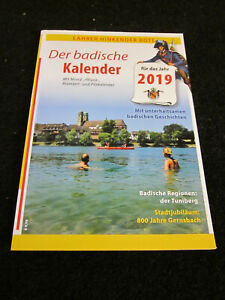Lahrer Hinkender Bote -2019- Der badische Kalender-