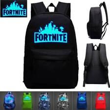 20 L Fortnite Battle Royale Backpack Rucksack School Bag GLOW IN DARK Boys Girls