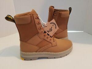 NEW Sz 11 US Men's Doc Dr Martens  Iowa Oak Brown Extra Tough Nylon Work Boots