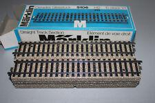 Märklin 5106 10 Stück gerades M-Gleis Spur H0 OVP