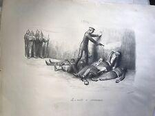 """VEBER JEAN GUERRE 14-18 """"LE 10 AOUT 1914  A DANNEMRRIE """""""