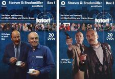 40 DVDs * TATORT - STOEVER & BROCKMÖLLER ERMITTELN - BOX 1+2 IM SET # NEU OVP &