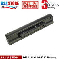 5200mAh Battery for Dell Inspiron Mini 10 10V 1010 1010v 1011 K711N H768N