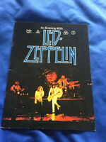 Led Zeppelin US tour book An evening with Led Zeppelin 1977