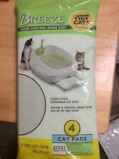 NEW SEALED Purina Tidy Cats 4 Pads Cat Pads Refill For Breeze Litter System