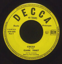"7"" CLARK TERRY - circeo / pannonica"