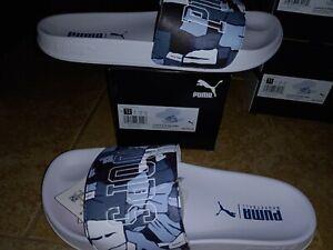NEW Mens Puma Leadcat FTR Basketball Sandals , size 12            shoes