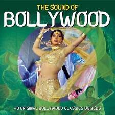 THE SOUND OF BOLLYWOOD - 40 ORIGINAL BOLLYWOOD CLASSICS (NEW SEALED 2CD)