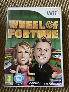 Nintendo Wii Wheel Of Fortune