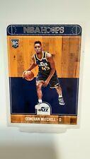 2017-18 NBA Hoops_DONOVAN MITCHELL_Rookie Card_#263 RC SP_UTAH JAZZ _🔥🔥🔥