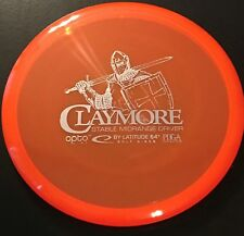 Latitude 64 Opto Claymore Midrange Disc Golf Disc 177g
