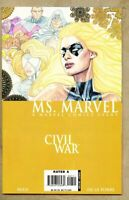 Ms. Marvel #7-2006-nm- 9.2 Civil War this issue had only 1 cover Ms Marvel