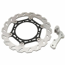 Tusk Oversized Floating Front Brake Rotor Kit - Kawasaki KLR650 08-15 KLR 650