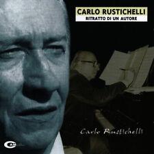 """CARLO RUSTICHELLI """"RITRATTO DI UN AUTORE"""" CD CAM 2001 NUOVO SIGILLATO Soundtrack"""