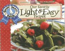 Gooseberry Patch Our Favorite Light & Easy Recipes Cookbook Recipe Book NEW