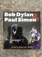 Bob Dylan and Paul Simon in Denver Live 3 CD Rare