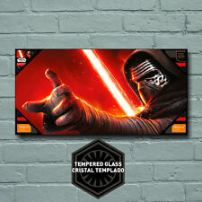 Star Wars Kylo Ren Toughened Glass Poster 60cm x 30cm
