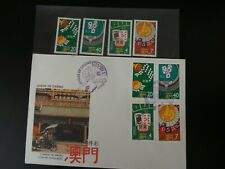 Macau fdc and stamps from 1987