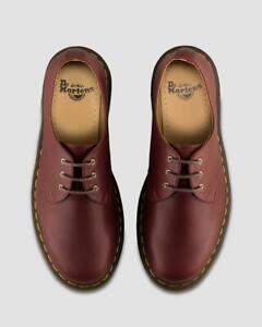 Dr. Martens 1461 Oxblood Smooth Hardlife 3- Eye Leather Shoes UK 12 / EU 47
