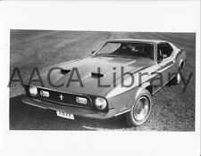 1971 Ford Mustang Mach 1 (I), Factory Photo (Ref. # 59467)