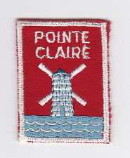 SCOUTS OF CANADA -  CANADIAN SCOUT QUEBEC POINTE CLAIRE DISTRICT Patch