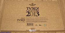 DONG BANG SHIN KI TVXQ TOHOSHINKI 2013 SM OFFICIAL DESK CALENDAR + NOTE SEALED