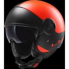 LS2 OF597 Cabrio Orange Helmet Large