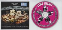 Limp Bizkit American NU Metal Band 2000 Universal Mega Rare Malaysia CD FCS1692