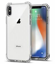 Apple iPhone X Case Crystal Clear Bumper Silicone Gel iPhone 10 Soft Cover