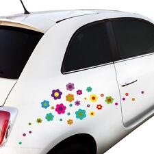 """Wandkings Auto Sticker """"Blumen Design 4""""  2x A4 Set Aufkleber Deko für Auto!"""
