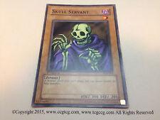 YuGiOh Skull Servant LOB-004 Original 1st Edition Common Card Mint