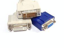 mâle DVI vers femelle + VGA séparateur Adaptateur câble fil HP MONITEUR