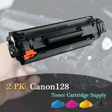 2Pack Black Toner Cartridge For Canon 128 3500B001AA ImageClass D530 MF4770n