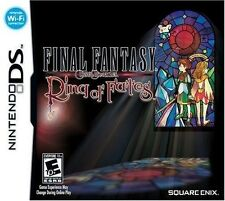 Final Fantasy Crystal Chronicles: Ring of Fates [Nintendo DS DSi, Fantasy RPG]