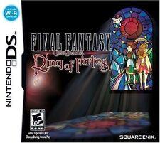 Final Fantasy Crystal Chronicles: Ring of Fates [Nintendo DS DSi, Fantasy RPG]