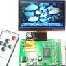 "4.3""TFT LCD Module Display + Dual AV  VGA Input Driveing Board Remote Controller"