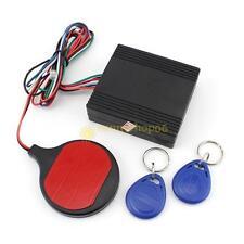 Car Engine Push Start Button RFID Alarm Lock Keyless Entry Immobilizer System