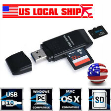 MINI  USB 3.0 5Gbps Super SpeedMicro SD/SDXC TF Card Reader Adapter Wholesale