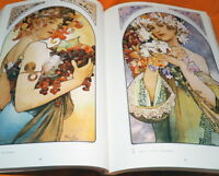 ALPHONSE MUCHA Collections of Works - From Paris to Moravia Book Japanese #1076
