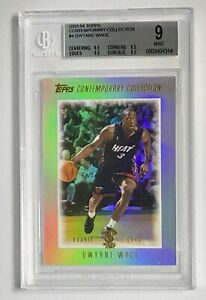 Dwyane Wade 2003-04 Topps Contemporary Collection #4 Rookie RC BGS 9 .5 Away GEM