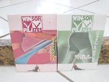 LOT 2 WINSOR PILATES DVDs Workout set Buns & Thighs & Upper Body sculpting Guthy