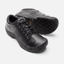 5c72e60fa22 Mens KEEN Utility PTC Black Oxford Leather Non-slip Tie Work Shoes Sz 11 D