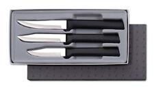 Rada G201 Paring Knife 3pc gift box set sharp USA made kitchen cutlery, black