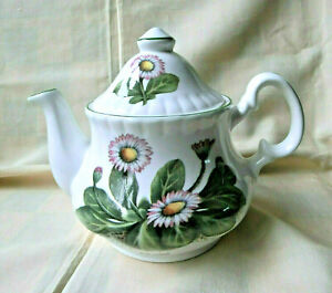 CHELSON FINE BONE CHINA TEAPOT * FORGET-ME-NOTS * DAISY * SNOWDROPS - 1 PINT
