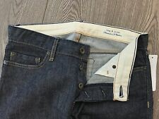 Rag & Bone GENUINE jeans sz 27 grey selvedge straight leg BNWOT rrp $345