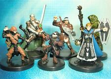 Dungeons & Dragons Miniatures Lot  Player Character Party Seasoned !!  s114