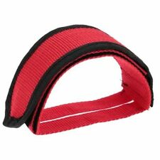 Fixie BMX Fixed Gear Bike Bicycle Adhesive Straps Pedal Toe Clip Strap Belt Cn