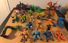 Vintage MOTU He-Man Lot SKELETOR and Accessories 1980?s- Snake Mountain - read -