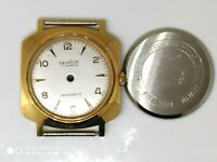 New 33mm Watch Case Rose Gold and Geneve Dial 25mm Set swiss made vintage Part