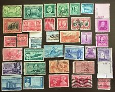 UNITED STATES MIDCENTURY COLLECTION 248 ALL DIFFERENT USED
